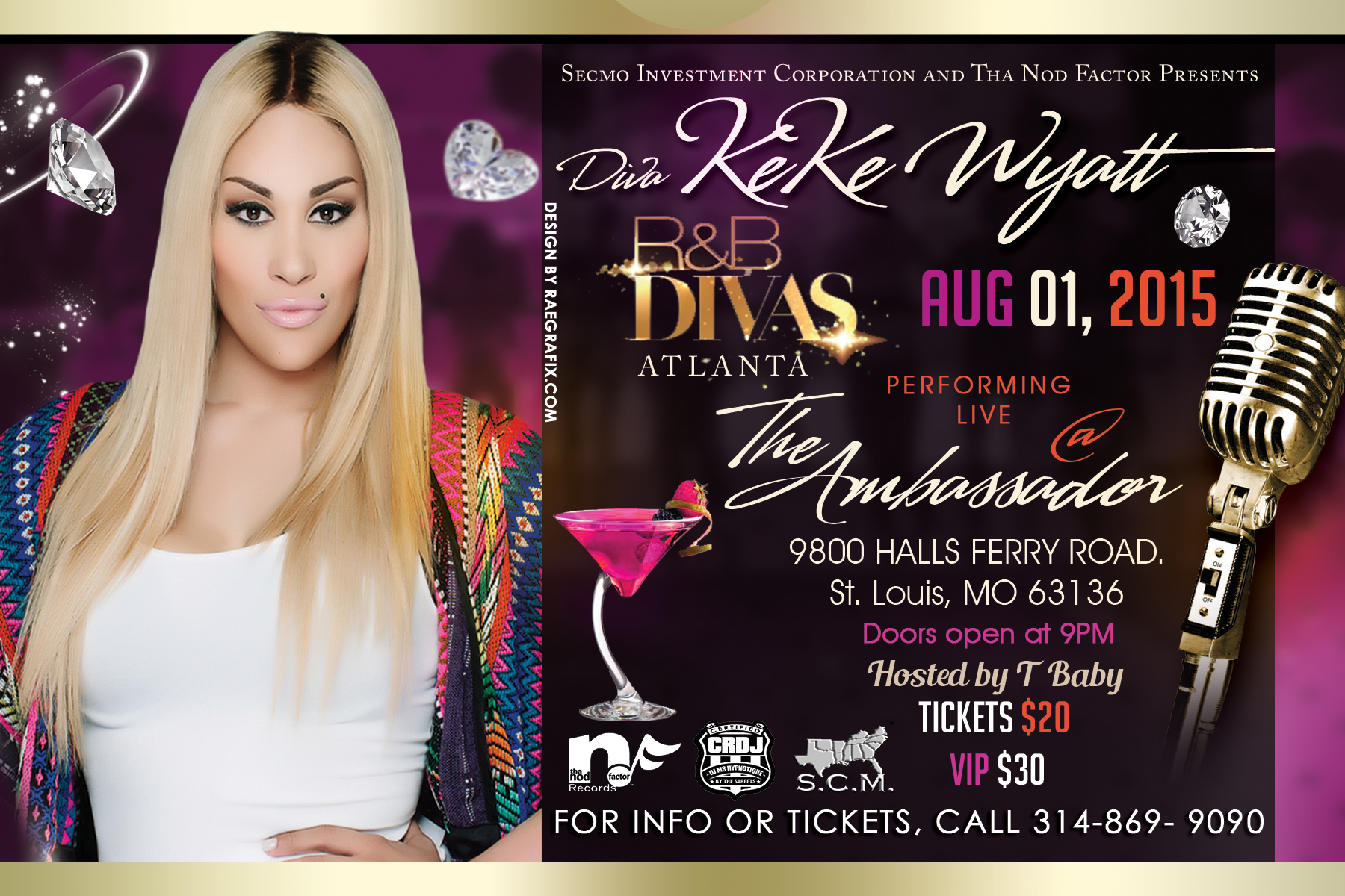 Keke Wyatt comes to St. Louis for Grown and Sexy Event.