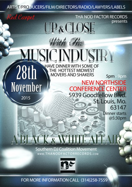 New Music industry flyer